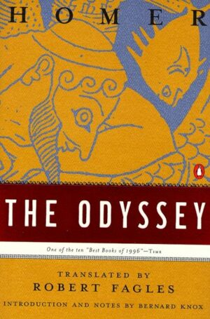 The Odyssey By (author) Homer ISBN:9780140268867