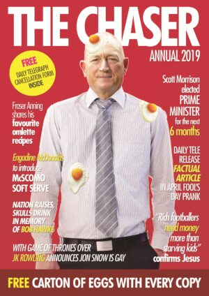 The Chaser and Shovel Annual 2019 By (author) The Chaser ISBN:9781760641474