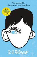 Wonder By (author) R J Palacio ISBN:9780552565974