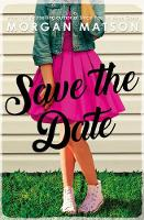 Save the Date MATSON