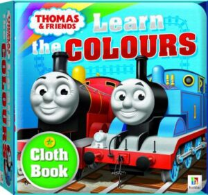 Thomas Cloth Book: Learn the Colours   ISBN:9781488911897