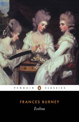 Evelina By (author) Frances Burney ISBN:9780140433470