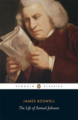 The Life of Samuel Johnson By (author) James Boswell ISBN:9780140436624