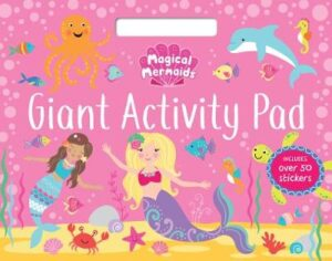 Magical Mermaids Giant Activity Pad   ISBN:9780655203735