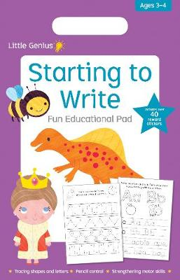 Little Genius Starting to Write Fun Educational Pad   ISBN:9780655209973
