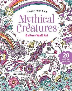 Colour Your Own Mythical Creatures   ISBN:9780655212386