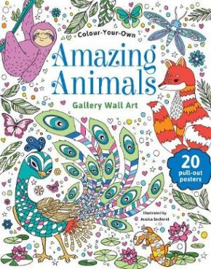 Colour Your Own Amazing Animals   ISBN:9780655212409