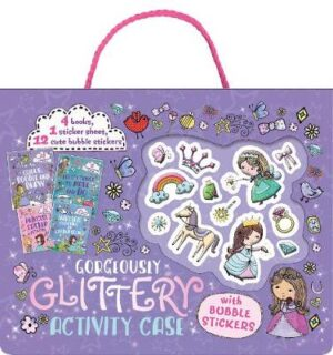 Gorgeous Glittery Activity Case with Bubble Stickers   ISBN:9780655215165