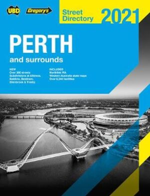 Perth Street Directory 2021 63rd ed By (author) UBD Gregory's ISBN:9780731932436