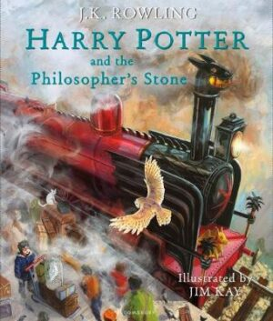 Harry Potter and the Philosopher's Stone: Illustrated Edition By (author) J.K. Rowling ISBN:9781408845646