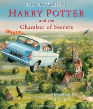 Harry Potter and the Chamber of Secrets: Illustrated Edition By (author) J.K. Rowling ISBN:9781408845653