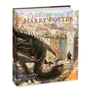 Harry Potter and the Goblet of Fire: Illustrated Edition By (author) J.K. Rowling ISBN:9781408845677