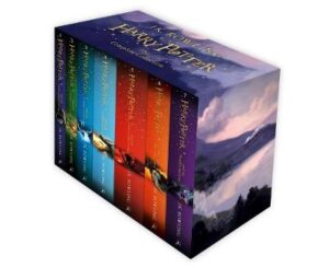 Harry Potter Box Set: The Complete Collection (Children's Paperback) By (author) J.K. Rowling ISBN:9781408856772