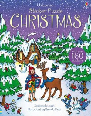 Sticker Puzzle Christmas By (author) Susannah Leigh ISBN:9781409583264