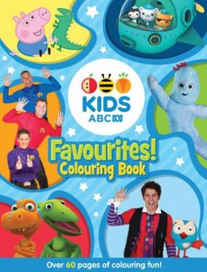 ABC KIDS Favourites! Colouring Book (Blue) By (author) ABC ISBN:9781460750759