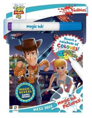 Inkredibles Toy Story 4 Magic Ink Pictures By (author) Hinkler Books Hinkler Books ISBN:9781488902130