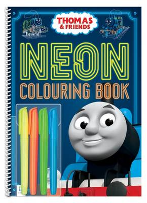 Thomas Neon Colouring with Highlighters   ISBN:9781488905490