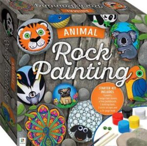 Animal Rock Painting Box Set By (author) Katie Cameron ISBN:9781488916403