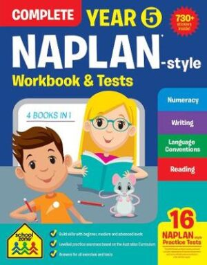 NAPLAN*-style Complete Year 5 Workbook and Tests (new cover)   ISBN:9781488933042