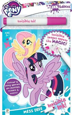 Inkredibles My Little Pony Invisible Ink   ISBN:9781488933066
