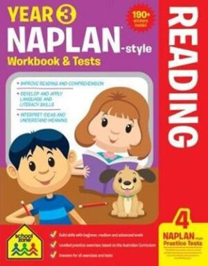 NAPLAN*-style Year 3 Reading Workbook and Tests (new cover)   ISBN:9781488933349
