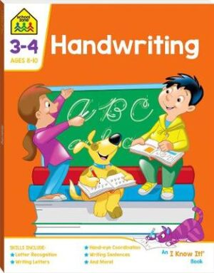School Zone Handwriting An I Know It Book By (author) Hinkler Books ISBN:9781488938719