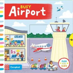 Busy Airport Illustrated by Louise Forshaw ISBN:9781529004182