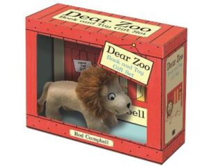 Dear Zoo Book and Toy Gift Set: Lion By (author) Rod Campbell ISBN:9781529028478