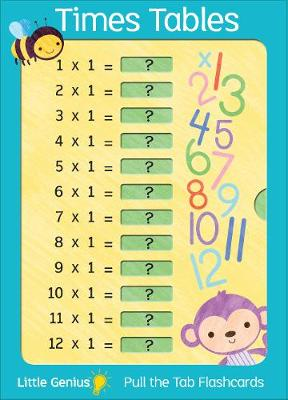 Little Genius Giant Flash Cards - Times Tables   ISBN:9781760459666