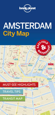 Lonely Planet Amsterdam City Map By (author) Lonely Planet ISBN:9781786574091