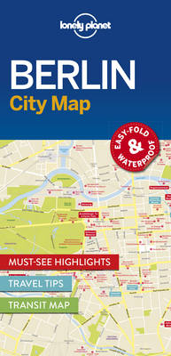 Lonely Planet Berlin City Map By (author) Lonely Planet ISBN:9781786574114