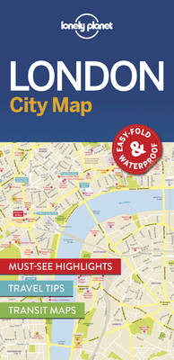 Lonely Planet London City Map By (author) Lonely Planet ISBN:9781786574138