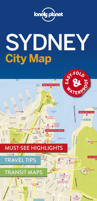 Lonely Planet Sydney City Map By (author) Lonely Planet ISBN:9781786577825