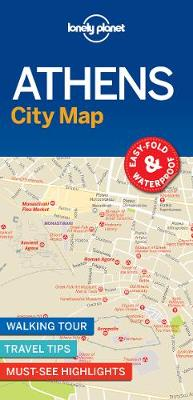 Lonely Planet Athens City Map By (author) Lonely Planet ISBN:9781787014503