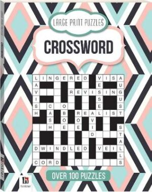 Large Print Puzzles: Crossword (Series 4) Created by Hinkler Books Hinkler Books ISBN:9781865151359