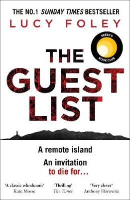 The Guest List By (author) Lucy Foley ISBN:9780008297176