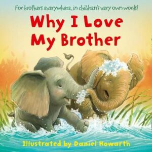 Why I Love My Brother Illustrated by Daniel Howarth ISBN:9780008423056