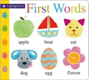 First Words: Alphaprints By (author) Roger Priddy ISBN:9781783415403